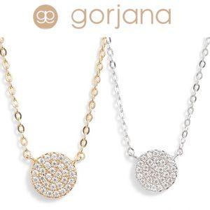 GORJANA Pavé Charm Adjustable Necklace